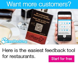 The Easiest Feedback Tool for Restaurants