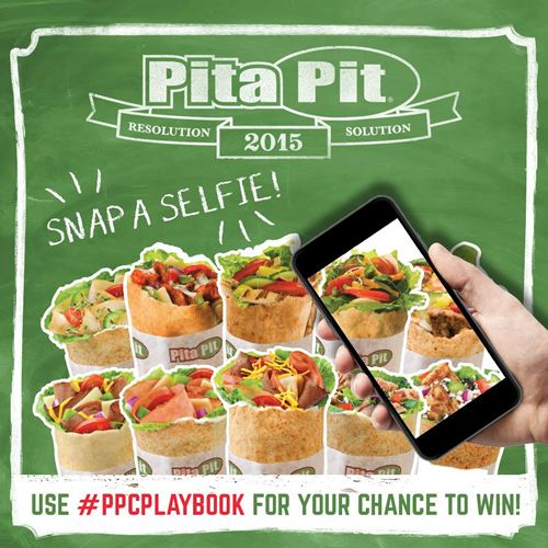 Pita Pit Helps Canadians Ring in the New Year with 2015 Resolution Solution Campaign