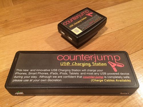 USB Charging System Draws Attention from Pub Patrons