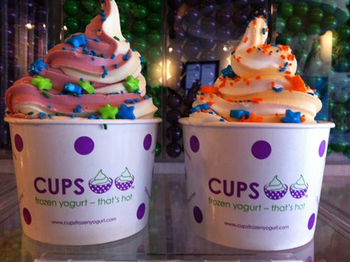 CUPS Frozen Yogurt - That's Hot Celebrates New Northridge Location on Saturday, April 11