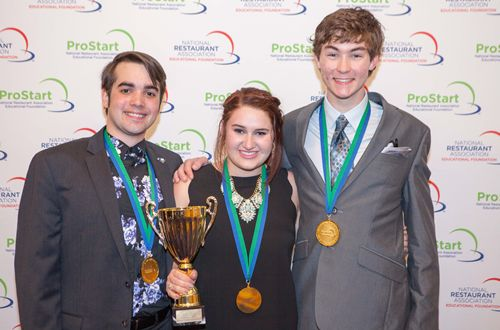 High School Students Named Champions Of High Stakes National Culinary Arts And Restaurant Business Competition