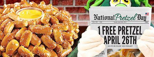 Philly Pretzel Factory Celebrates National Pretzel Day with Free Pretzel Giveaway