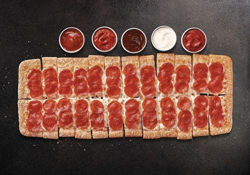 Pizza Hut Introduces Big Flavor Dippers Pizza