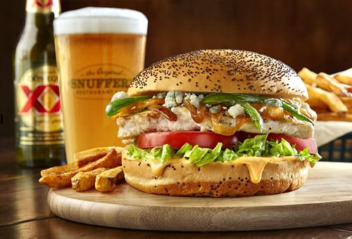 Snuffer's Gets Confused, Offers Up Sriracha Chicken Sandwich as 'Burger of the Month' in May