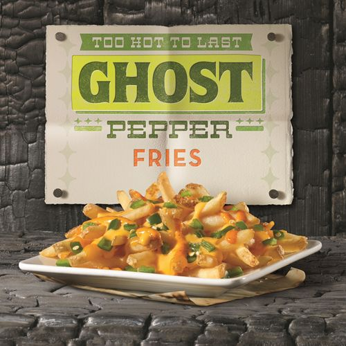 Wendy's Introduces the New Jalapeno Fresco Spicy Chicken Sandwich and Ghost Pepper Fries