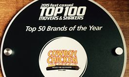 Cowboy Chicken Ranks #18 on Fast Casual Magazine's 2015 Movers & Shakers