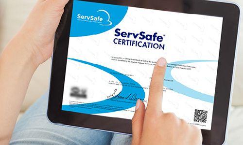 ServSafe Program Now Offering eCertificates