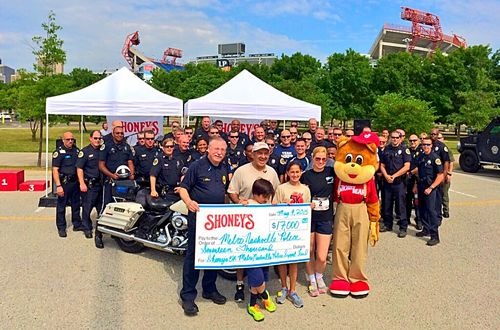 Shoney's 5K Family Fun Run Raises $17,000 for the Nashville Police Support Fund