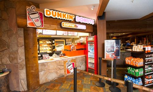Dunkin' Donuts Opens Sixth Great Wolf Lodge Location
