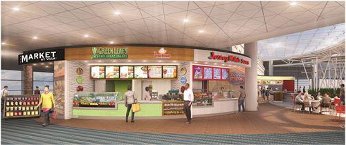 Villa Enterprises Captures Major Food Court Contract At