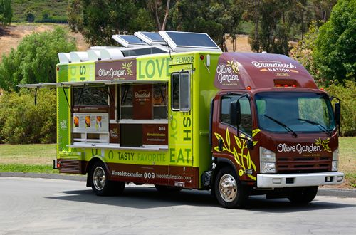 Olive Garden Breadstick Bun Sandwiches Make their Menu Debut