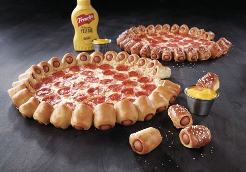 Pizza Hut Hot Dog Bites Pizza Available Beginning At 11 a.m., June 18