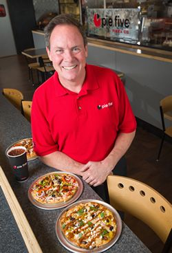 EY announces RAVE Restaurant Group CEO Randy Gier as EY Entrepreneur Of The Year 2015 Award winner in the Southwest region