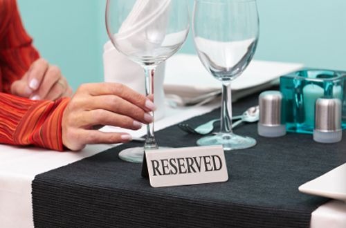 Restaurants Add Reservation Cancellation Fees to the Menu
