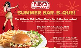 Ruby's Diner Introduces Summer Menu Items