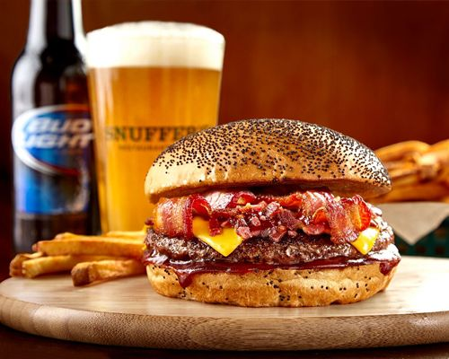 Snuffer's Introduces Dr Pepper BBQ Bacon Burger as June's 'Burger of the Month'