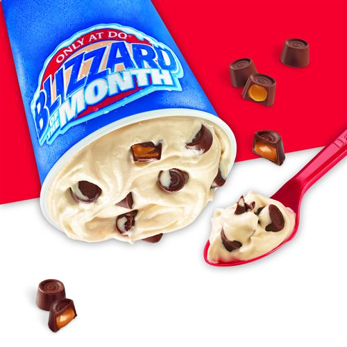 The Dairy Queen System is Rollin' Out the Rolos for the Featured Blizzard of the Month in August
