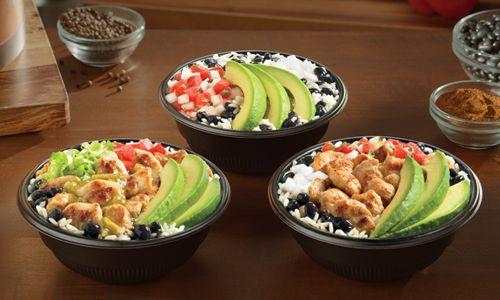 Del Taco Launches Three New Fresca Bowls Featuring Fresh Sliced Avocado
