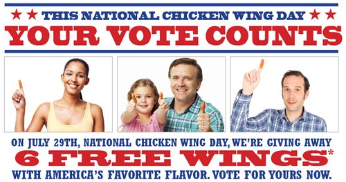East Coast Wings & Grill Launches National Poll to Find America's Favorite Flavor
