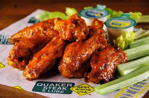 Quaker Steak & Lube Gives Back In Honor Of National Chicken Wing Day