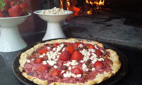 The World's First Free-From Marshmallow Pizza Is Created In England