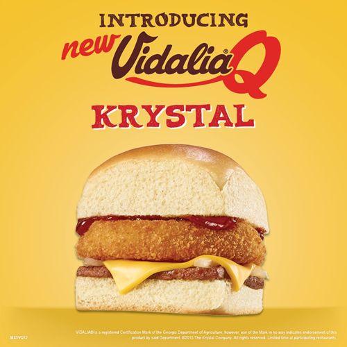 Krystal Offers a Big, Vidalia-Sweet Value with Free Specialty Krystal Offer