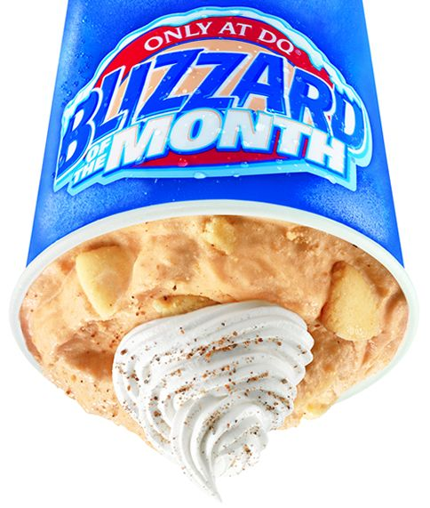 Pumpkin Pie Blizzard Treat Returns for Kick-Off of Fall Season