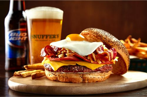 Snuffer's Goes Back to the Farm for September's Burger of the Month