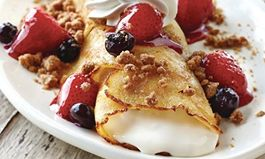Come 'N Try New Fruit 'N Streusel Crepes From IHOP Restaurants