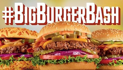 Denny's Invites Guests To A Big Burger Bash