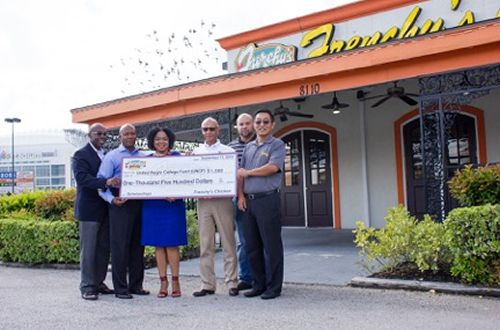 Frenchy's Chicken Generously Gives Back to UNCF