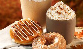 New Salted Caramel Latte and Salted Caramel Latte Doughnut Highlight Krispy Kreme's Lineup of Fall Flavor Offerings