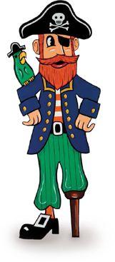 Long John Silver's Restaurants Celebrating Talk Like a Pirate Day!