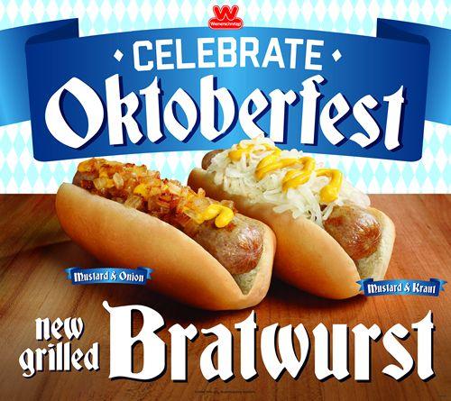 Wienerschnitzel Celebrates Oktoberfest with New Grilled Bratwurst