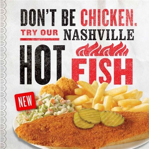 Captain D's Launches NEW Nashville Hot Fish