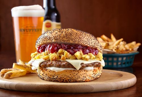 Snuffer's Thanksgiving Turkey Burger Debuts Nov. 1