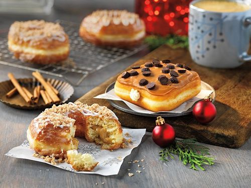 Sweet New Donut Treats And Festive Coffee Favorites