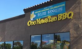 Grand Opening Celebration for Ono Hawaiian BBQ in Chino