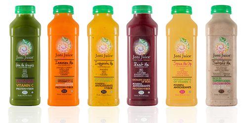 Joni Juice Teams up with Amazon Fresh