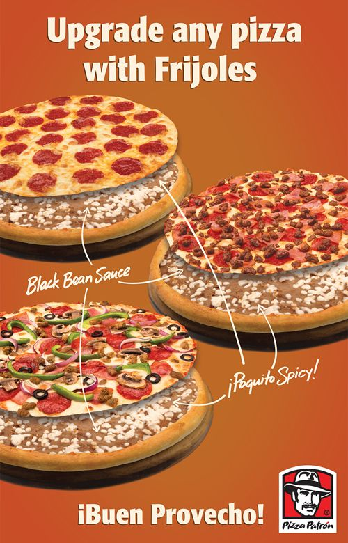 Pizza Patrón Expands Black Bean Sauce to All Pizza Recipes