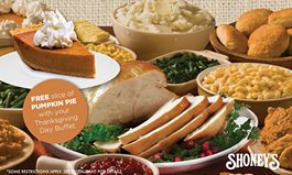 Shoney's Doors Are Wide Open on Thanksgiving Day for All You Can Eat Feast