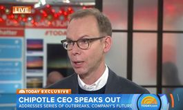 Chipotle Founder Steve Ells Addresses Series Of Outbreaks