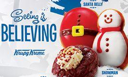 Krispy Kreme Spreading Joy With an Assortment of Holiday Sweet Treats