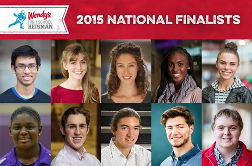 Wendy's Announces National Finalists For The 2015 Wendy's High School Heisman