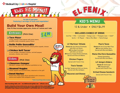 El Fenix Helps Kids Resolve to Eat Healthier