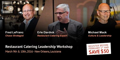 Expert panel to lead Restaurant Catering Leadership Workshop