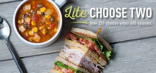 mcalister s deli lite choose two offers healthier menu options