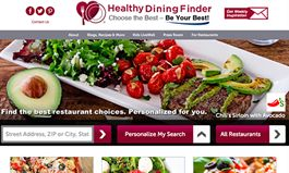 Take Your Diet Out To Dinner with HealthyDiningFinder.com