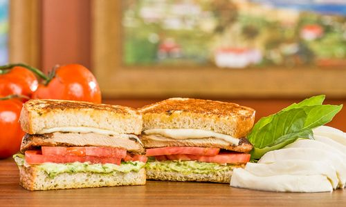 A Fresh Taste of Italy at The Habit: Chicken Caprese Sandwich