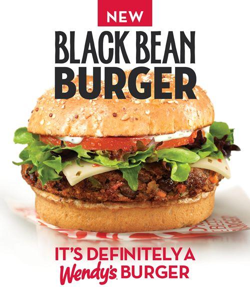 Wendy's is testing its new vegetarian Black Bean Burger in three ...